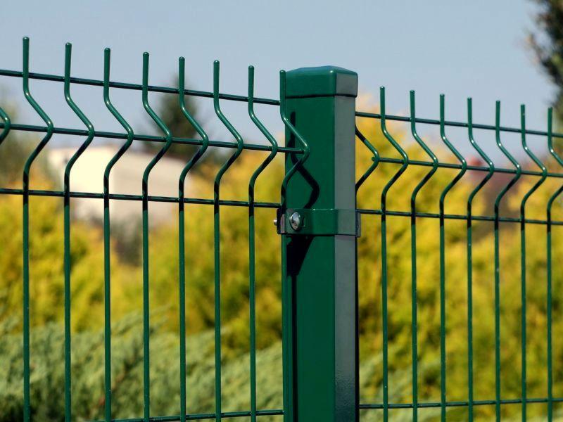 Panele ogrodzeniowe 250cm/123cm/4mm - Zielone