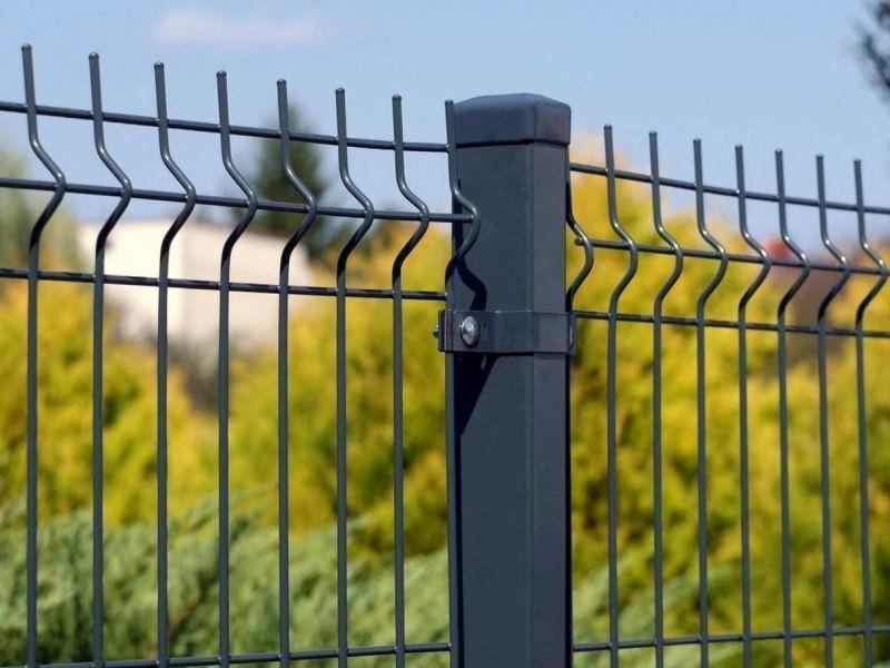 Wybitny Panele ogrodzeniowe 250cm/153cm/4mm - antracyt , brązowe , czarne QH21